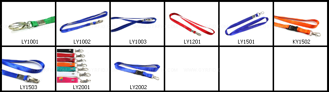LY1002 neck lanyards for exhibitions ( GYRFID )