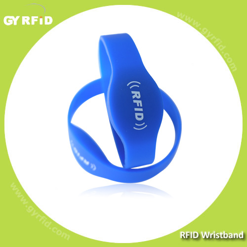 WRS05 GK4001  EM ID water proof bracelets for Gym center ( GYRFID )