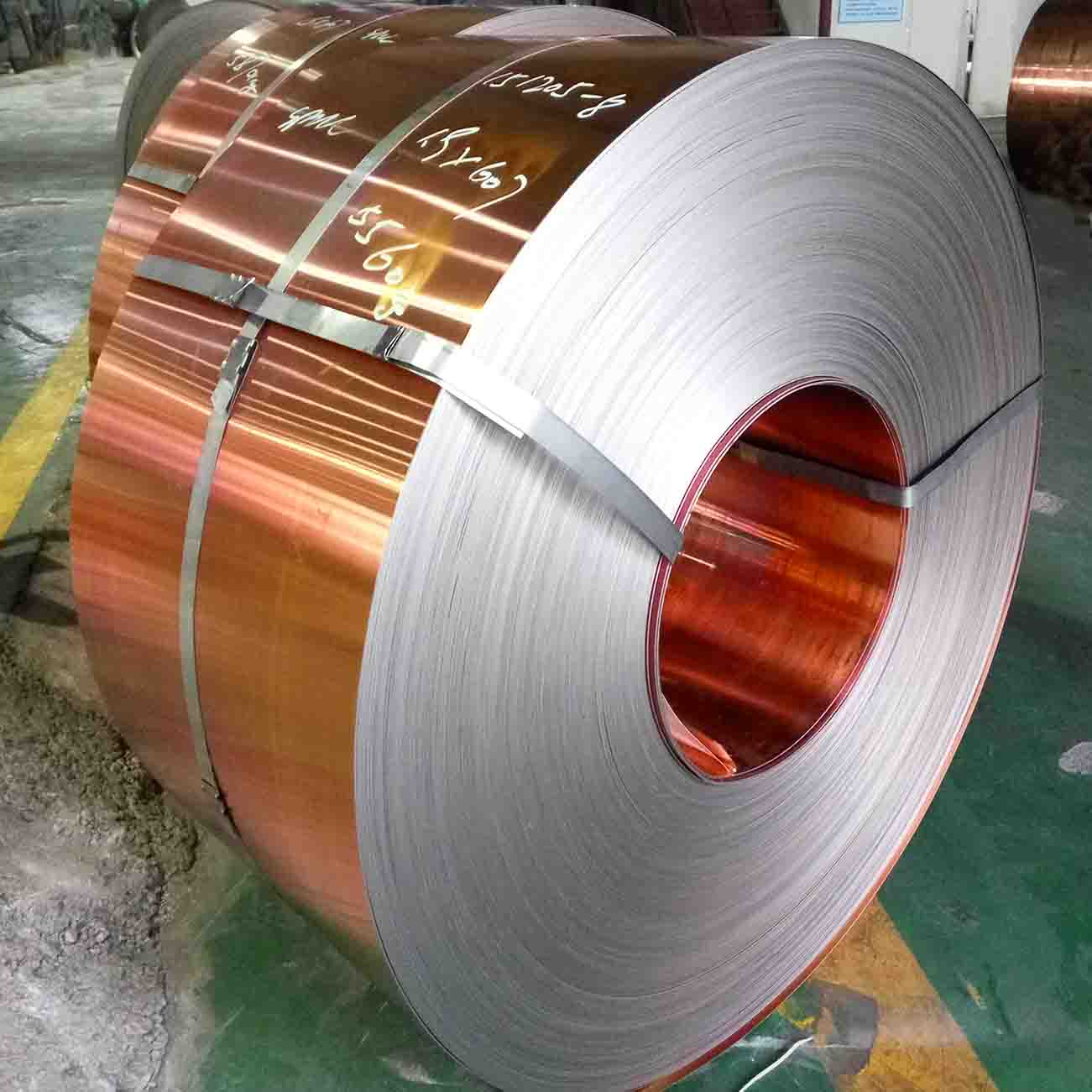 Copper-steel-copper Sheet