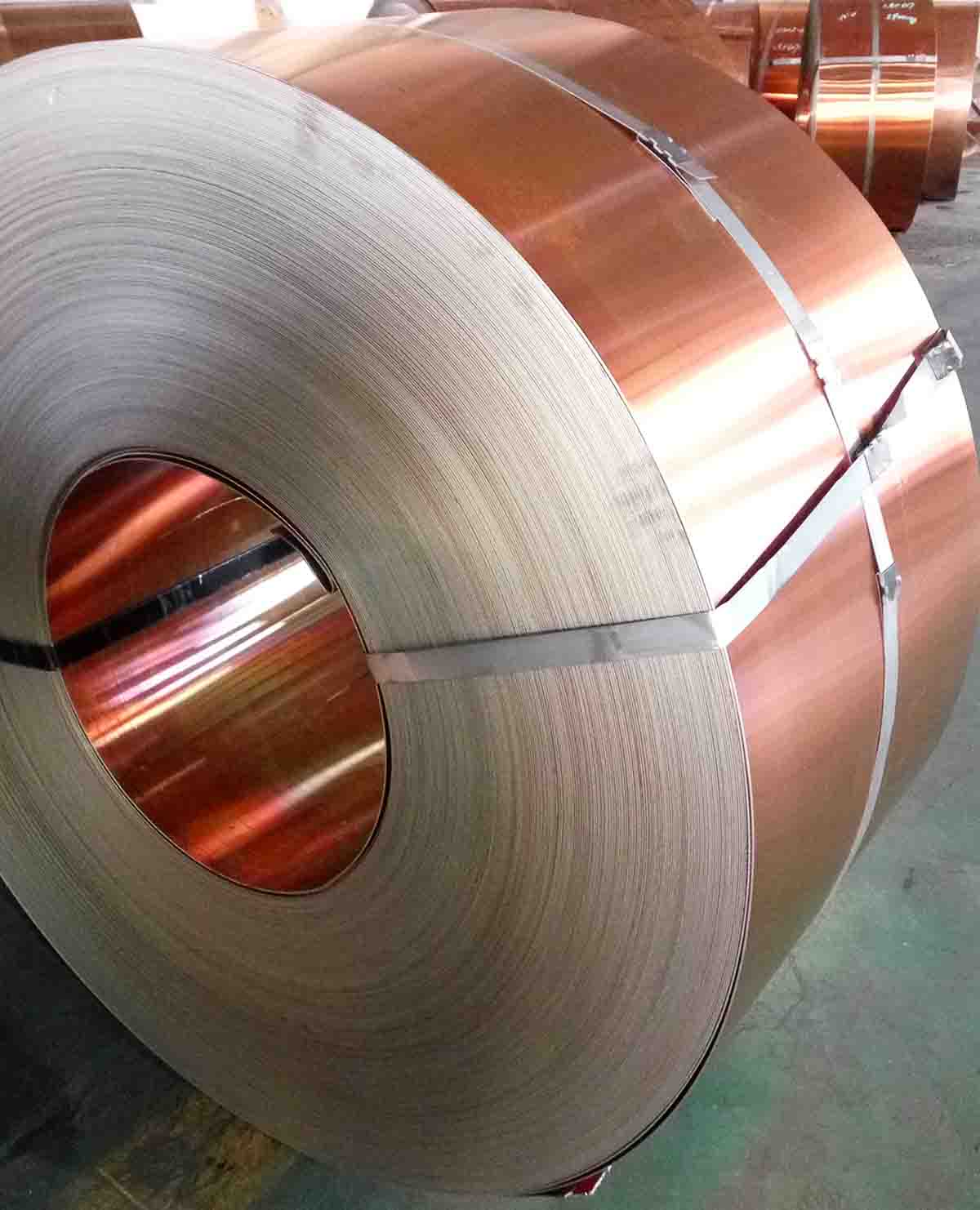 Composite Copper Steel for Oil Cooler