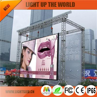 P6 outdoor led soft screen