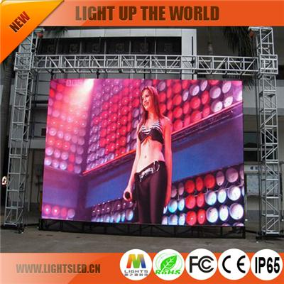 P8 rental led display