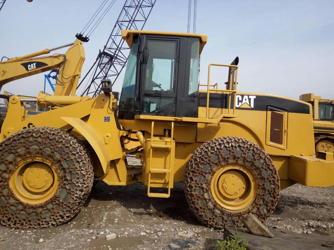 966G used wheel loader caterpillar for sale from china