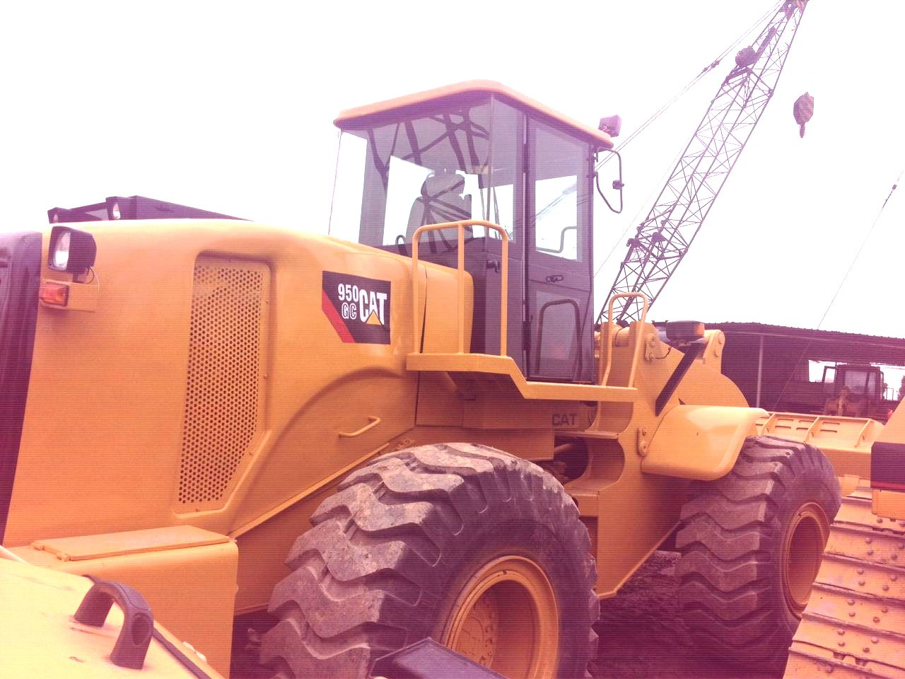 950GC used wheel loader caterpillar for sale from china 950F 950E 950B