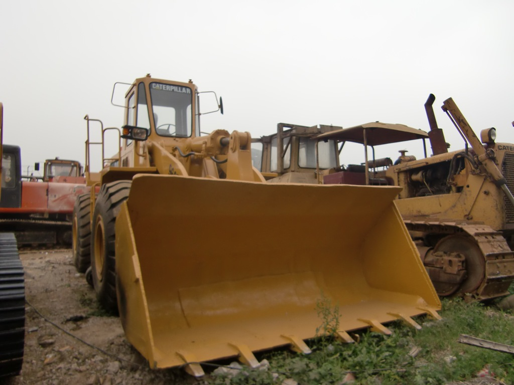 966E used wheel loader caterpillar for sale from china 950F 950E 950B