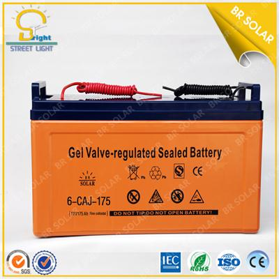 175Ah Gel rsolar street light battery battery charger
