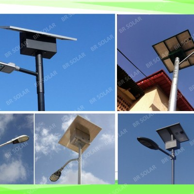 45W 8M height solar light Best quality and price from BR Solar