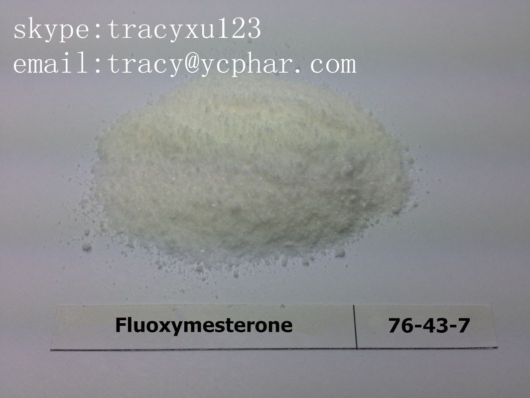 Anabolic Steroid Halotestin CAS 76-43-7 Safety Fluoxymesterone For Women Breast Cancer Treatment Powder  email:tracy@ycphar.com