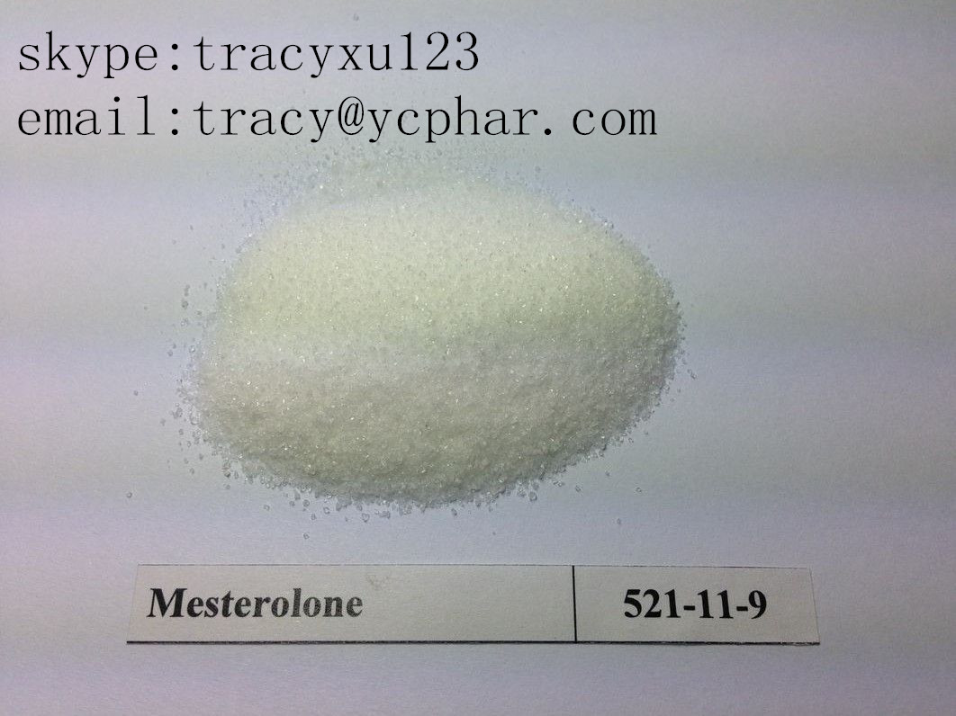 Male Hormone Powder Mesterolone Androgen Proviron For Musclebuilding  email:tracy@ycphar.com