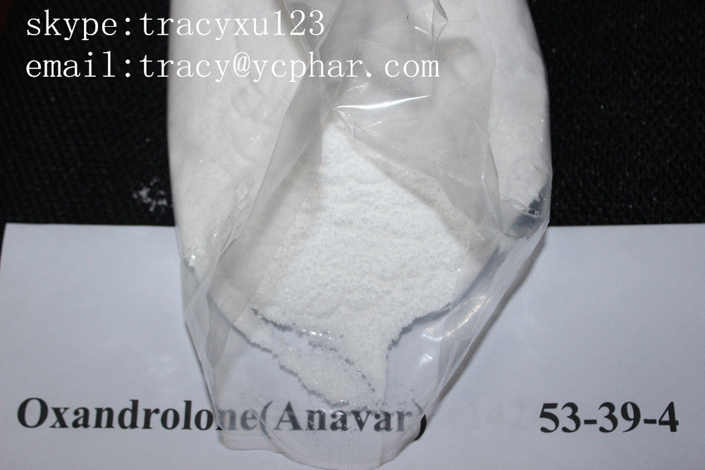 CAS 53-39-4 Anabolic Oxandrolone Anavar Steroid powder  email:tracy@ycphar.com