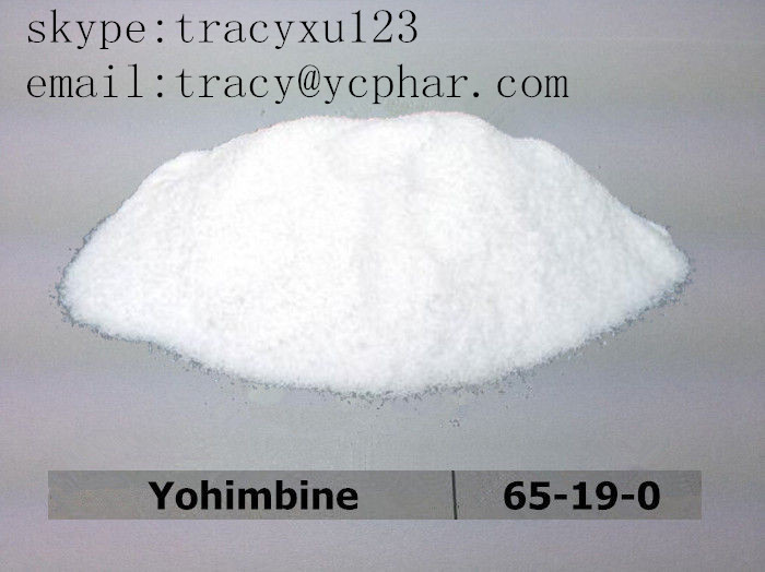 Yohimbine hydrochloride   email:tracy@ycphar.com