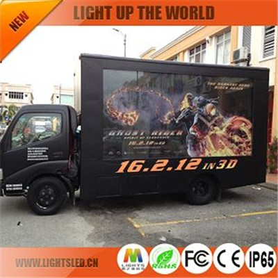 P8 high quality truck led display