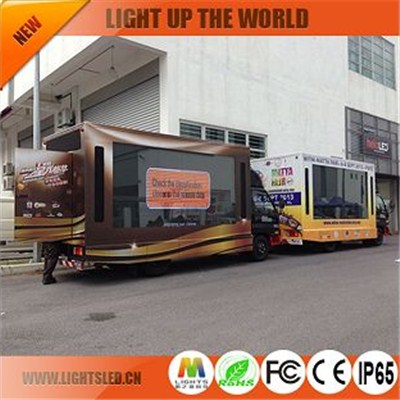 P6 Mobile Truck Led Display Outdoor Full Color