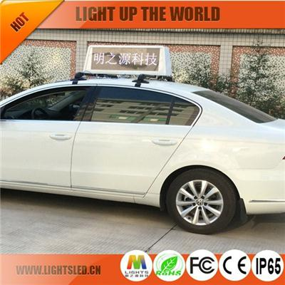 P5 LS1828A Taxi Roof Led Display