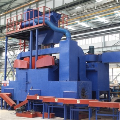 Steel Pipe Outer Wall Shot Blasting Machine
