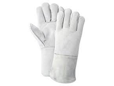 Cheap Price Split Cowhide Leather Welding Gloves With Full Lining
