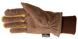 Split Cowhide Full Leather Gloves Warm Gloves