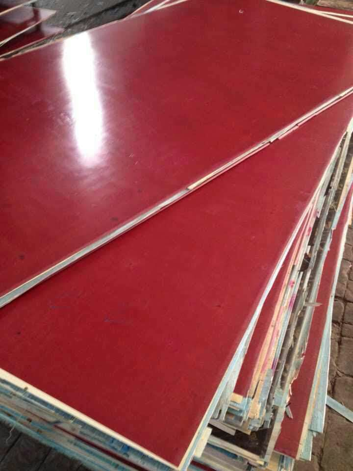 Stability red film faced phenolic plywood sheets