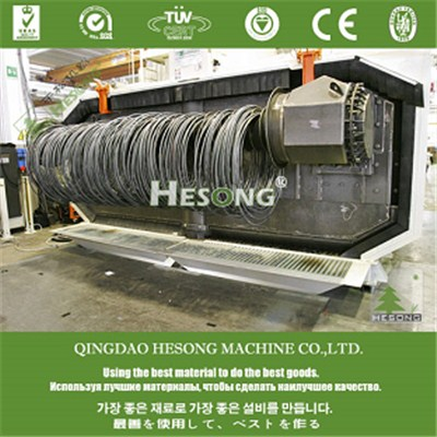 Coiled Wire Blast Machine