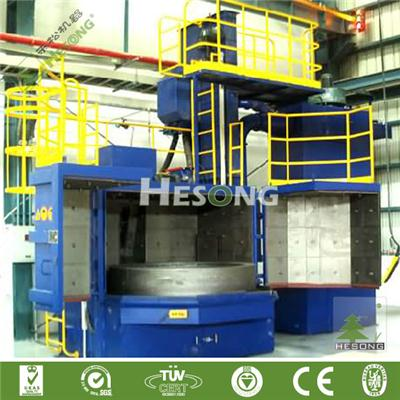 Rotary Table Blast Machine