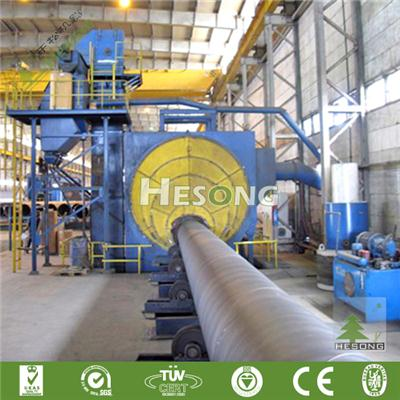 Outwall Pipe Blast Machine