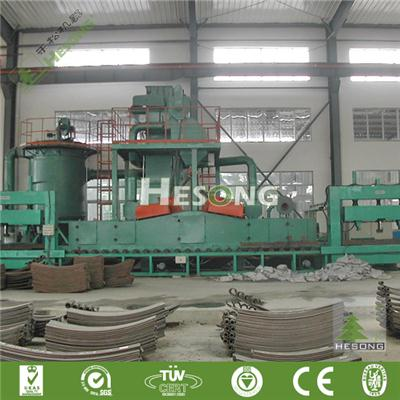 Leaf Spring Blast Machine