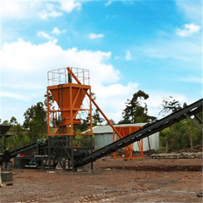 WBSD500 Stabilizing Soil Mixing Plant