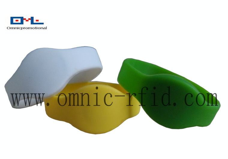 Hot Sell RFID Silicone Wristband