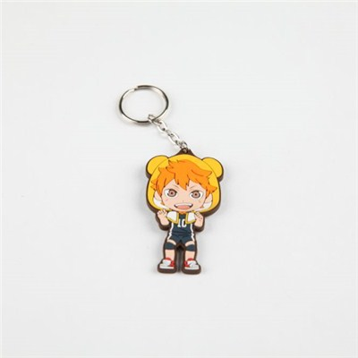 PVC Rubber Key Chain