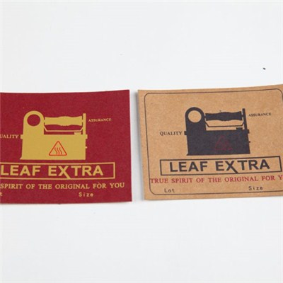Jeans Jackets Accessories Custom Brown Kraft Paper Label