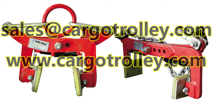 Stone scissor clamps with durable quality