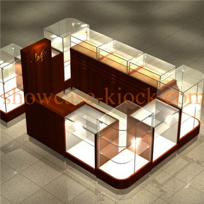 Jewelry Shopping Mall Kiosk