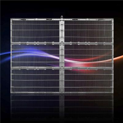 P10 Indoor Transparent Mesh LED Display