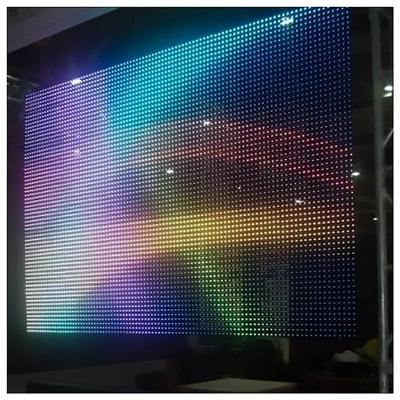P37.5 Outdoor LED Video Curtain Mesh