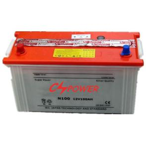 12V100Ah Dry Charged Car Battery