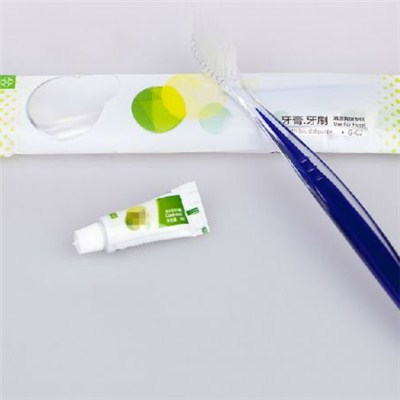 Hotel Toothbrush And Toothpaste Set