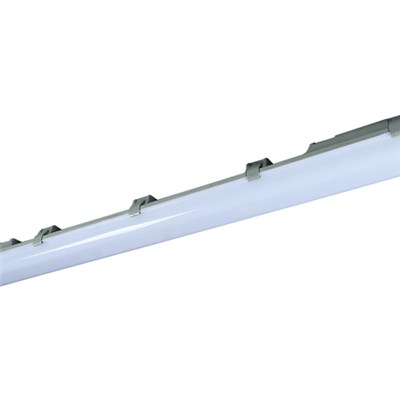 1200mm Twin LED Module Tri-proof Light With Clips
