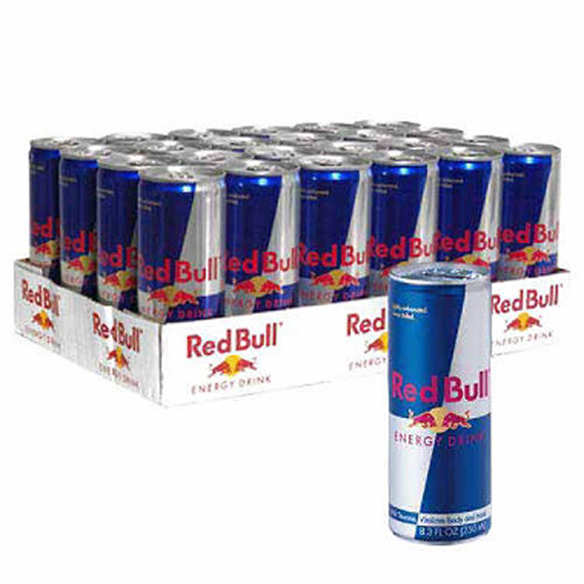 Red bull energy drink. XL energy drink and Monster energy drink