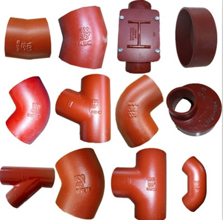 EN877 Pipe Fittings/ISO6594 Cast Iron Pipe Fittings