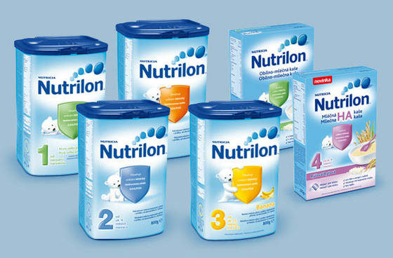 Nutrilon nutricia infant baby powder