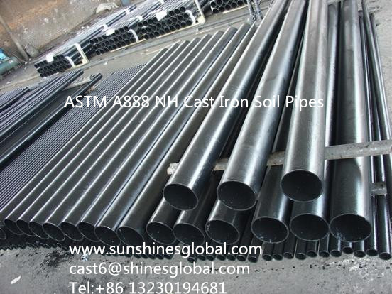ASTM A888 Cast Iron Pipe/ASTM A888 Cast Iron Soil Pipes