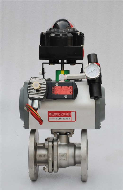 Top-Guided Single Seated Control Valves