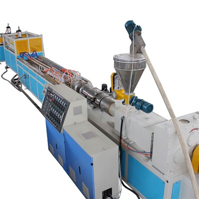 PE Wood Plastic Profile Production Line