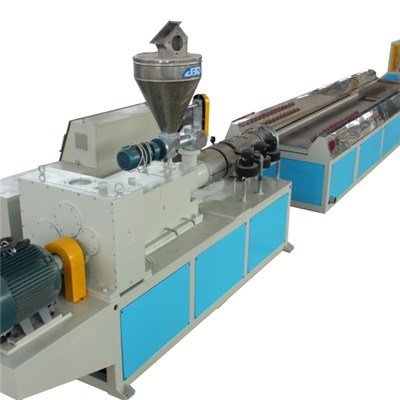 PVC Wood Plastic Profile Production Line