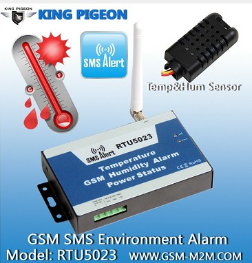 GSM SMS Temperature Humidity Alarm