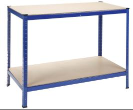 2 Shelf Workbench