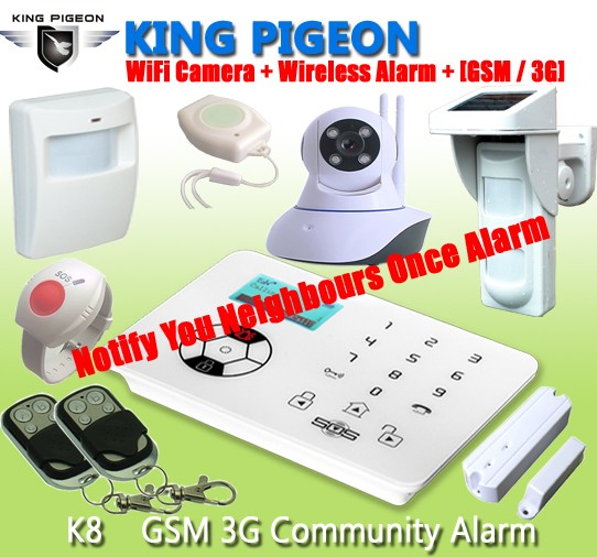 GSM Help for Neighbor Sos GSM 3G  Alarm, Community Safety(WCDMA )