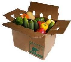 Wax Coated Vegetable Cartons