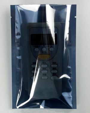 Plastic Anti Static Zipper Stand Up Electronic Bags