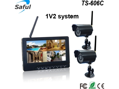 TS-606C 1V2 wireless monitor system